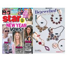 The stunning ivy necklace, featured in the Star for bejewelled these statement necklaces will bring sparkle to any outfit... #starmag #bejewelled #fashion #accessories #sparkle #souksylondon #musthave