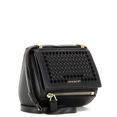 Pandora Box Mini Embellished Leather Shoulder Bag » Givenchy - mytheresa