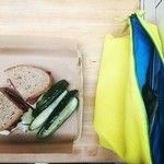Checking out Wexler's Deli at Grand Central Market with our Lemon yellow Louie+  #essexla #thelouie #clutch