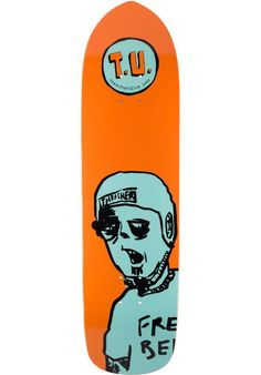 Transportation-Unit Free-Beer, Deck, orange Titus Titus Skateshop #Deck…