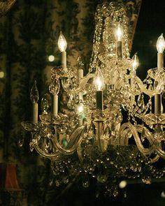 "New Orleans Photograph. French Quarter Antique Chandelier. ""New Orleans Chandelier"" Art. Dark Romanc"