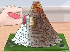 How to Make a Soda Bottle Volcano. Making a soda-bottle volcano is a classic science experiment that doubles as a great excuse to make an explosive mess. There are multiple combinations of materials that will lead to a fun explosion. Volcano Science Projects, Volcano Activities, Kid Activities, Kids Volcano Experiment, School Projects, Projects For Kids, Paper Mache Volcano, Reuse Old Tires, Reuse Recycle