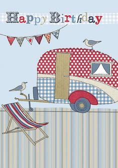 Vintage caravan craft
