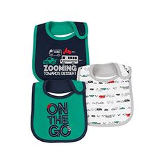 "CARTER'S Just One You Baby Boys' 3 Pack BIBS Car On the Go- BLUE MULTI - Green -Red - Gray - Teething Bib -  Transportation - ""Zooming Toward Dessert"" - Water Resistant - Style #526G785. AVAILABLE WHILE SUPPLIES LAST!  https://www.amazon.com/dp/B01N5CX9MM/ref=cm_sw_r_pi_dp_x_AbjSybQ0E006R"