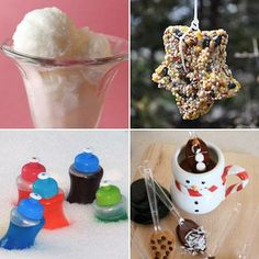 From snow ice cream to snow paint, here are some fun, kid-friendly snow day activities you can make right in your kitchen!