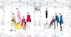 #Jaesuk.Kim Fashion Illustration Dior FW14_Personal