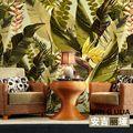 Spedizione gratuita Southeast Asia Foresta Pluviale grande murale salone TV sfondo 3d stereo ristorante Formato Personalizzato