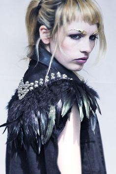 VEST by Outi Pyy#Feathers
