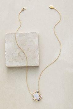 Renza Pendant Necklace #anthropologie