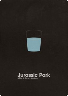 A self initiated poster project. Re-design the Jurassic Park poster in my own style. Minimal Movie Posters, Minimal Poster, Cinema Posters, Cool Posters, Movie Poster Art, Poster S, Jurassic Park Poster, Poster Minimalista, Michael Crichton