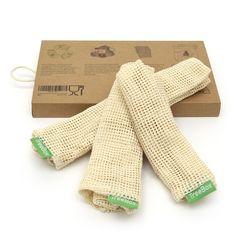 TreeBox Premium Obst- und Gemüsebeutel im 3er Set Fingerless Gloves, Arm Warmers, Blog, Fruit, Sachets, Products, Fingerless Mitts, Blogging, Fingerless Mittens