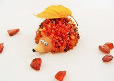 Baltic Amber Hedgehog  Unique Handmade Gift by CraftsbySigita