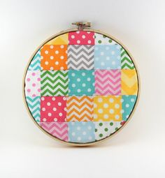 Embroidery Hoop Wall Art  Nursery Decor  by theredpistachio, $15.00
