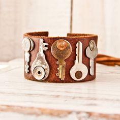 Leather Jewelry Cuffs Bracelets Wristbands Women's Accessories