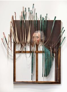 American artist Titus Kaphar paints gorgeous pieces that remind me of my Art History text books… which he then he cuts up and rearranges into modern masterpieces that tell an entirely new story