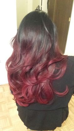 Red elumen ombre with Rebecca @ de berardinis hairsalon fairview mall Elumen Hair Color, Fairview Mall, Long Hair Styles, Red, Beauty, Long Hairstyle, Long Haircuts, Long Hair Cuts, Beauty Illustration