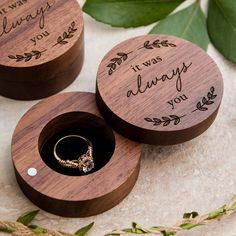 Your place to buy and sell all things handmade Ring Bearer Box, Rustic Ring Bearers, Proposal Ring Box, Wedding Ring Box, Wedding Ceremony, Wooden Ring Box, Ring Dish, Walnut Wood, Wood Rings