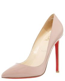 Classic Louboutins in a blush shade!
