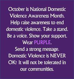 DV Awareness!