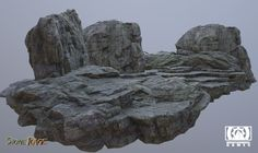 These beautiful rocks were done by Lead Environment Artist Christopher G. exclusively for StoneRage!