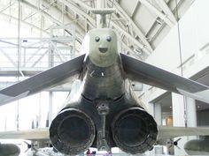 Faccia felice pronta al decollo!