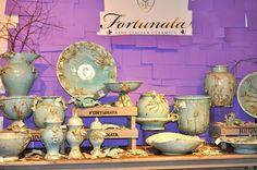 Fortunata Italian ceramic pieces