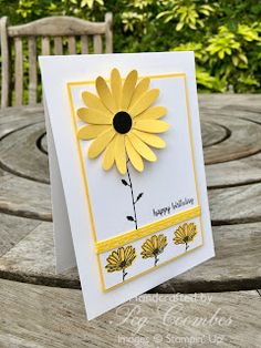Stampin Up Demonstrator UK Pegcraftalot Peg Coombes: Daisy Delight and sorry I'm late
