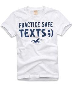Presente para o namorado! Camiseta Hollister Masculina POINT VICENTE - Branca - FigoVerde.com.br  Apenas R$89 a vista!