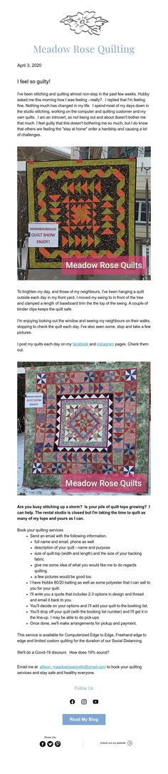 Meadow Rose Quilting March 18 April 3, Bohemian Rug, Quilting, Rose, Decor, Decoration, Decorating, Roses, Patchwork