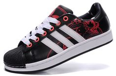 sale retailer 3044a 59a8f You Will be fashion with our Adidas Women Men Originals Superstar 2 Print  Casual Black Red - All Adidas Shoes For Sale Now
