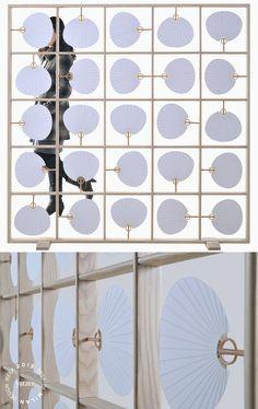 Best of Milan Design Week 2015 Partition Screen, Divider Screen, Screen Design, Wall Design, Chinese Interior, Milan Design, Wall Treatments, Furniture Design, Wall Decor