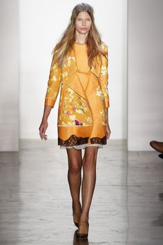 Peter Som Spring 2013 Ready-to-Wear Fashion Show - Monika Sawicka
