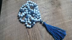 108 Mala Bead Necklace, Mala, Prayer Beads, Meditation Necklace, Yoga Jewellry, Boho Jewellry by SkullzNBeadz on Etsy