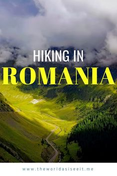 to Hiking in Romania Guide to Hiking in Romania: Plan your hiking trip with these tips on where to go, what to see, and more!Guide to Hiking in Romania: Plan your hiking trip with these tips on where to go, what to see, and more! Hiking Europe, Europe Travel Guide, Travel Guides, Travelling Europe, Traveling, Europe Packing, Europe Destinations, Visit Romania, Turism Romania