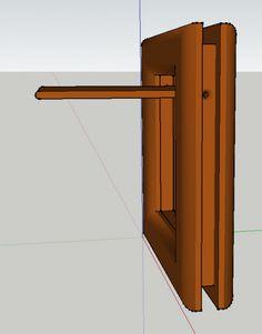 les 4 montants du cadre les deux parois de la porte coll s avec un espace 5mm du bord. Black Bedroom Furniture Sets. Home Design Ideas