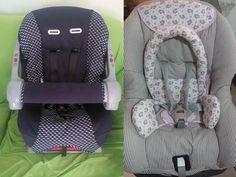 Artesanato feito para você!: Capa de cadeirinha e bebê conforto