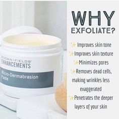 Let me help you achieve your optimal skin with the right Rodan and Fields products. Exfoliating with microdermabrasion paste will enhance the results of any regimen by removing dead skin cells and improving skin texture. Rodan Fields Skin Care, Rodan Fields Lash Boost, My Rodan And Fields, Rodan And Fields Business, Rodan And Fields Canada, Skin Care Regimen, Skin Care Tips, Rodan And Fields Microdermabrasion, Rodan And Fields Consultant