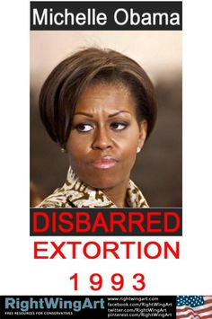 Michelle Obama was disbarred in 1993  So interesting that we never hear about this