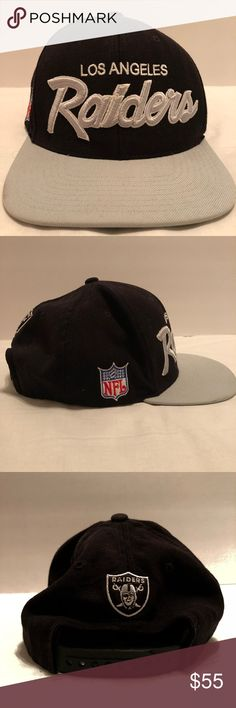 Los Angeles raiders SnapBack vintage hat🔥 Los Angeles raiders NFL vintage hat from Michelle & NESS. This item is used it has very little wear it has little rust on button inside the hat as seen on photo. This is from my personal Collection it come from a smoke free home🚨🚨 Los Angeles raiders Other