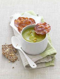 Velouté de haricots verts au chorizo - Recettes de cuisine