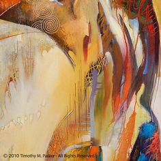 Résistance à la traction - tirages d'Art sur texture papier ou sur toile - Edition limitée de 50 Cette oeuvre figurative abstraite qui combine lénergie au hasard dune peinture abstraite et la pose tranquille de la figure féminine.  À la main signée par lartiste - Tim Parker  ::: DEUX TAILLES DIFFÉRENTES:::  Taille de limage : 18 « x 24 » sur du papier Fine Art Format de papier : 22 « x 28 » (impression est signé dans la bordure blanche à la main) Non encadrée - sadapte à nimporte quel…