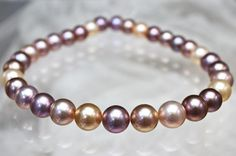 Rakuten: Fresh water pearl, natural color necklace. 12-14 mm