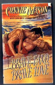 Brave Land Brave Love by Connie Mason *Discount Available* historical romance book *Free Shipping*