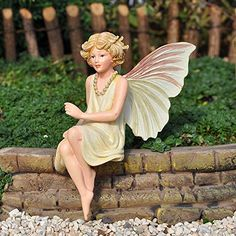 Miniature Fairy Garden Queen of the Meadow Fairy * Remarkable product available now. : Gardening for Beginners
