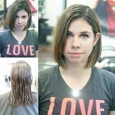Bob haircut by Maria