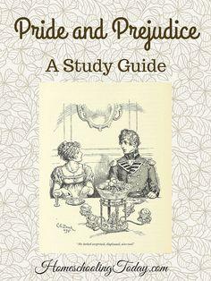 Pride and Prejudice: Living Literature - A Study Guide - Homeschooling Today  || Ideas and inspiration for teaching GCSE English || www.gcse-english.com ||
