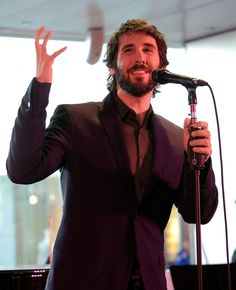 Snapshot: April 29, 2015 - Josh Groban - Ready for another stage in his career. Josh Groban performs songs from his new studio album, Stages, on April 28 in New York