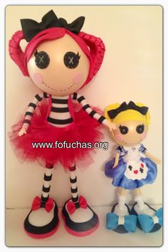 I made 2 new Lalaloopsy Fofucha dolls. They are made using foam sheets and tulle. Can be perfect centerpieces,decor gifts. The Blonde Lalaloopsy is 12 inches tall and the other one stands at 21 inches.  #Lalaloopsy #fofuchas #crafts