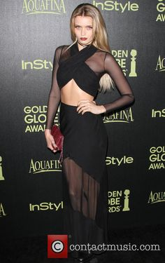 Picture - Celebration and Abbey Lee Kershaw at Fig & Olive Melrose Place Golden Globe Los Angeles California United States, Friday 21st November 2014 | Photo 4473984 | Contactmusic.com