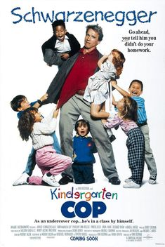 Kindergarten Cop - Movie poster